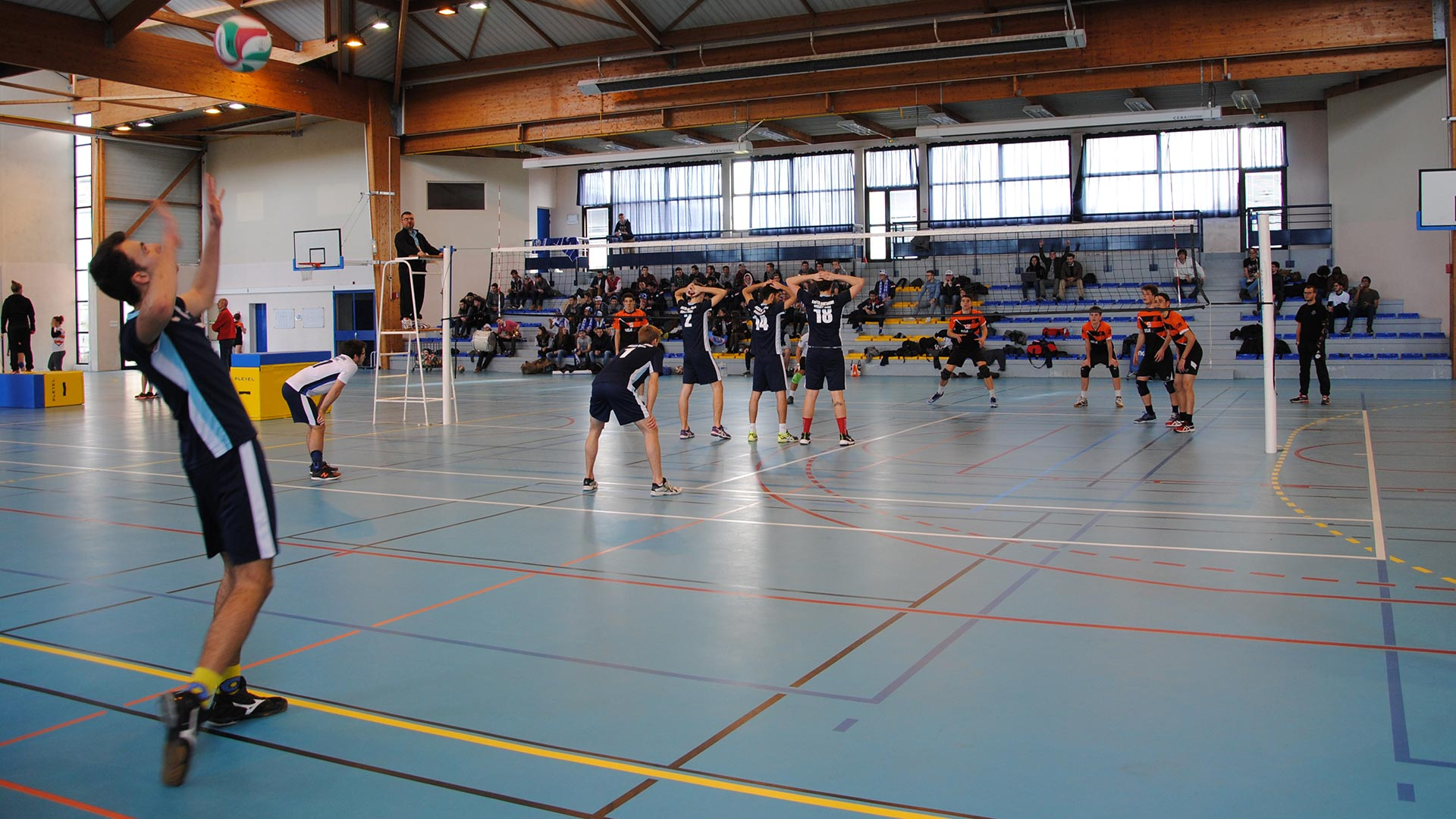 ENSTA Bretagne : match de volley-ball  compétition