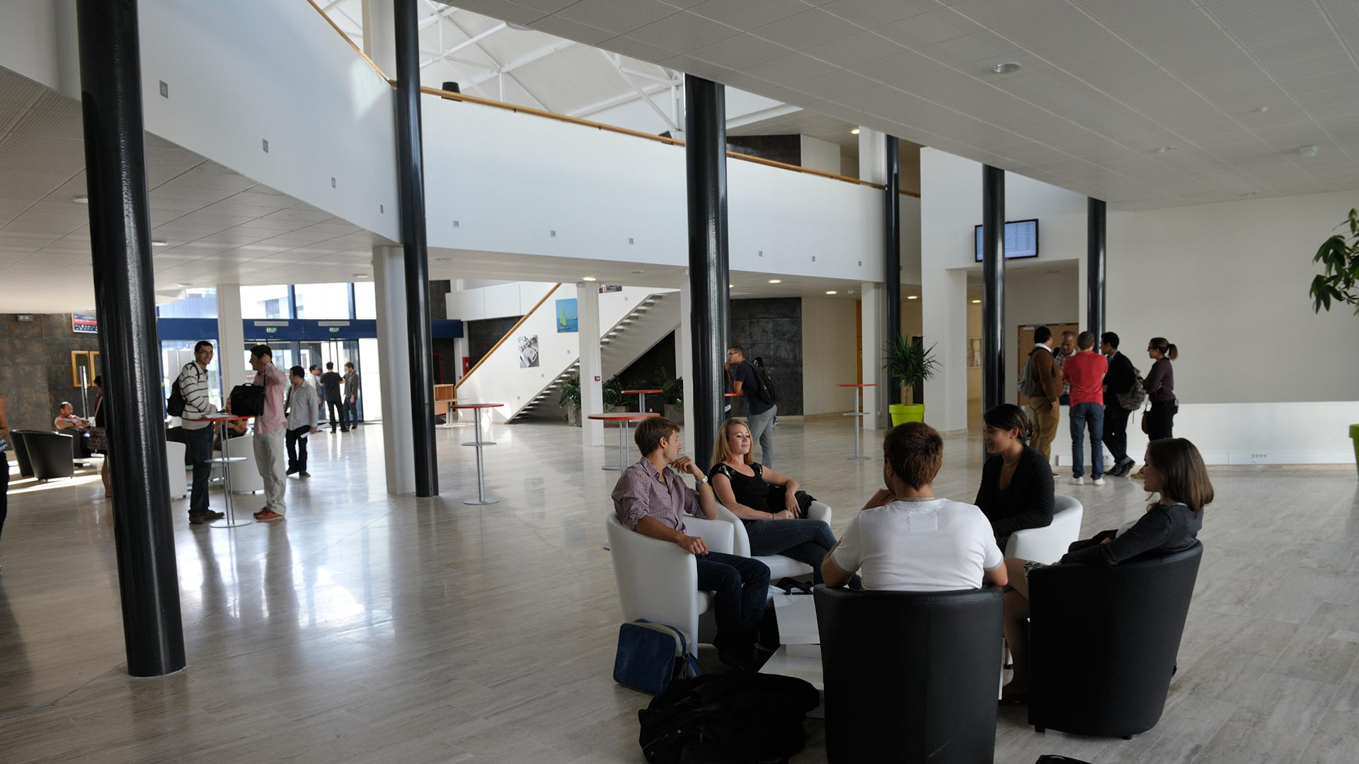 ENSTA Bretagne : Grand hall du campus