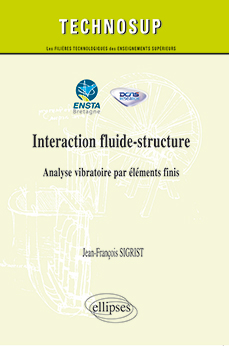 ENSTA Bretagne : Livre Technosup interaction fluide/structure édition Ellipses
