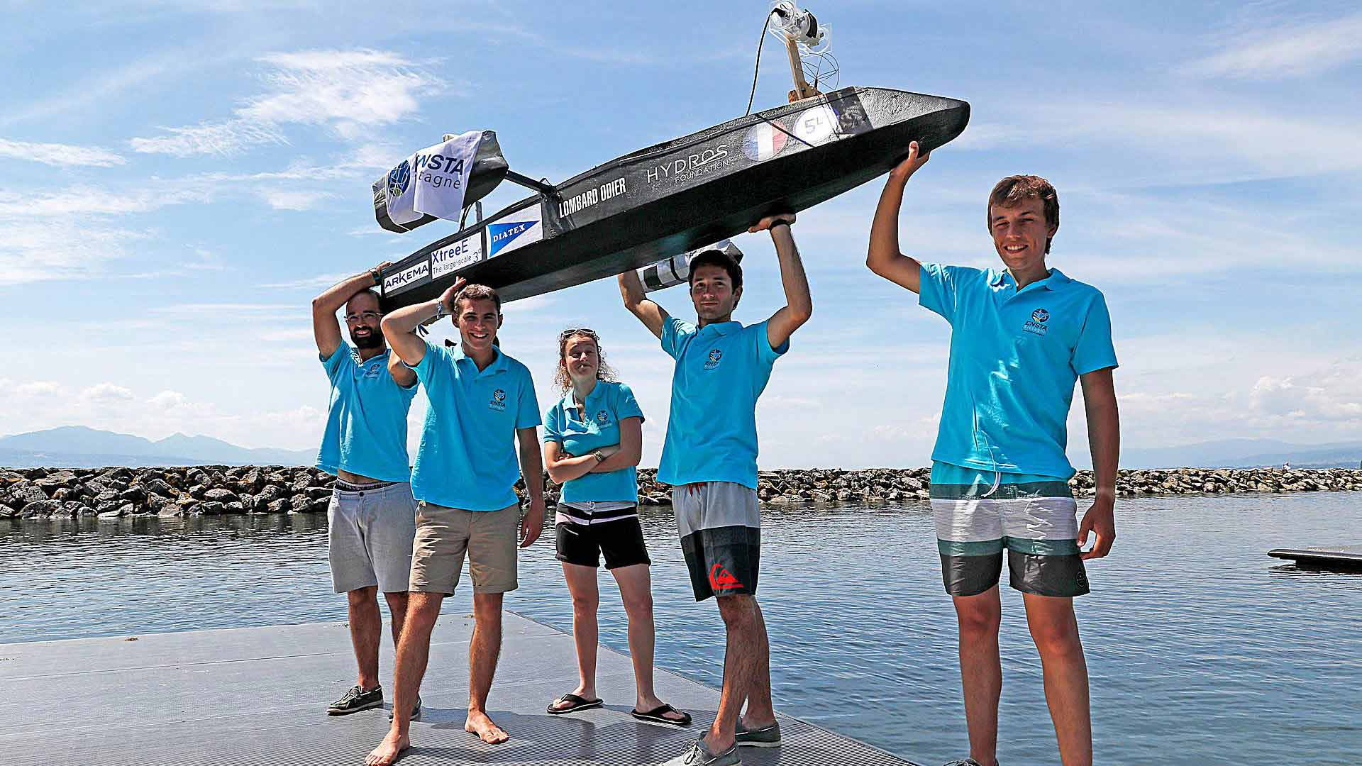 ENSTA Bretagne : HydroContest competition